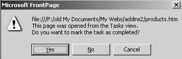 Save the task prompt